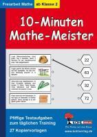 10-Minuten-Mathe-Meister Pfiffige Textaufgaben zum täglichen Training - Weinfurter, Armin