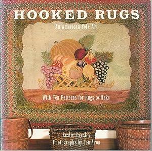 Hooked Rugs : An American Folk Art: Linsley, Leslie