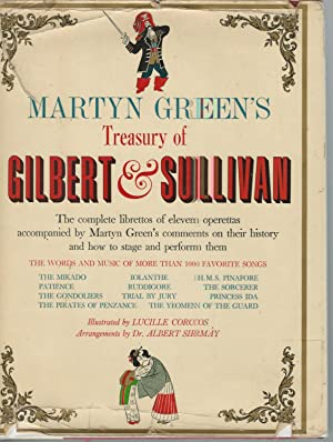 Martyn Green's Treasury of Gilbert & Sullivan: Green, Martyn