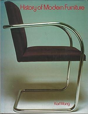 History of Modern Furniture: Mang, Karl