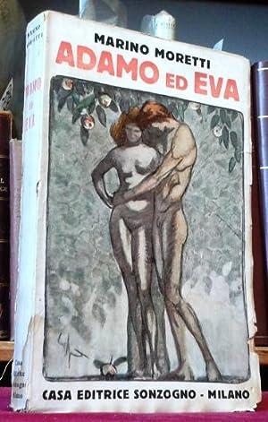 ADAMO ED EVA.: Moretti Marino (Cesenatico 1885 - 1979)