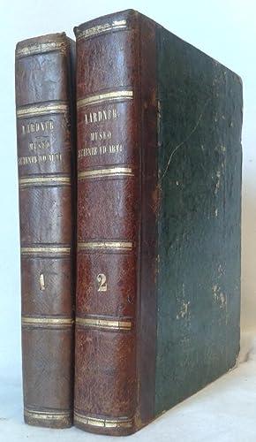 IL MUSEO DELLE SCIENZE ED ARTI . Illustrato da circa 1000 intagli sul legno. Volume Primo - Secondo...