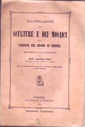 ILLUSTRAZIONE DELLE SCULTURE E DEI MOSAICI SULLA: Conti Pio Augusto