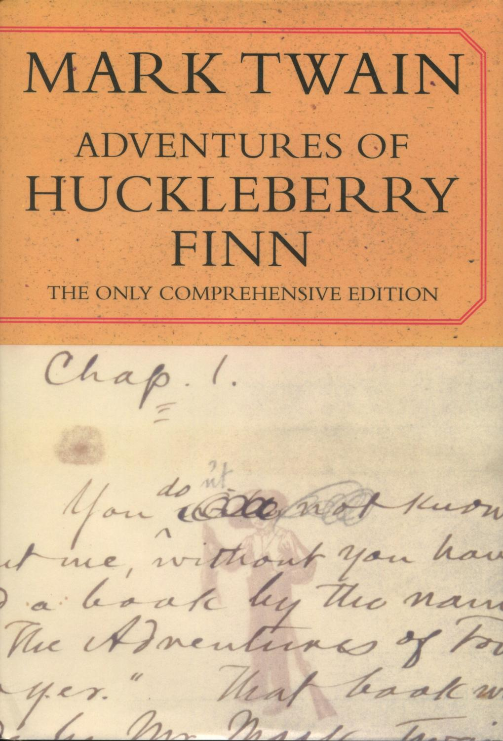 a literary analysis of huck finn in the adventures of huckleberry finn by mark twain Mark twain was not quite 50 when he published the adventures of huckleberry finn in february 1885, and in so doing, changed american literature.