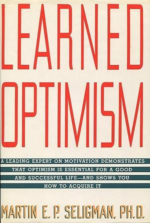 Learned Optimism: Seligman, Martin E.