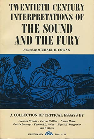 Critical Essay Twentieth Century Interpretations Of The Sound And Cowan Michael H Things To Compare And Contrast For An Essay also Definition Of Essay Examples Twentieth Century Interpretations Sound Fury  Abebooks Nyu Mba Essays