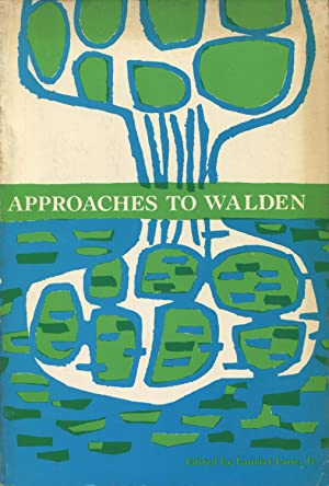 Approaches To Walden: Lane, Lauriat, (editor)