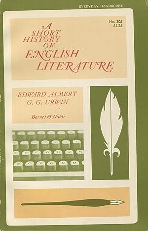 A Short History Of English Literature: Albert, Edward and