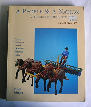 A People and a Nation: A History: Norton, Mary Beth