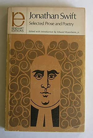 Selected Prose and Poetry.: Swift, Jonathan.