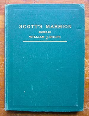 Marmion.: Scott, Sir Walter.