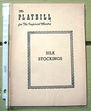 Silk Stockings. The Playbill for the Imperial: Book by George
