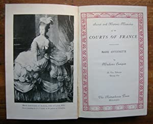 Secret and Historic Memoirs of the Courts: Campan, Madame.