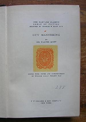 Guy Mannering.: Scott, Sir Walter.