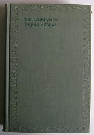 Specimens of the Pre-Shakesperean Drama. [Volume I: Manly, John Matthews.