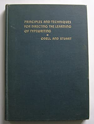 Principles and Techniques for Directing the Learning: William R. Odell