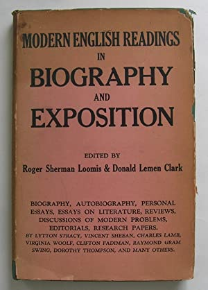 Modern English Readings in Biography and Exposition.: Edited by Roger