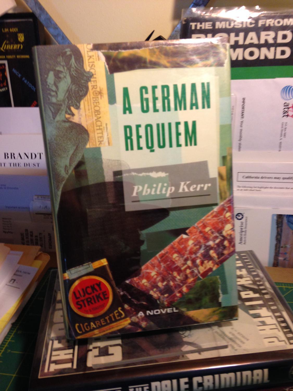 A GERMAN REQUIEM. KERR, Philip.