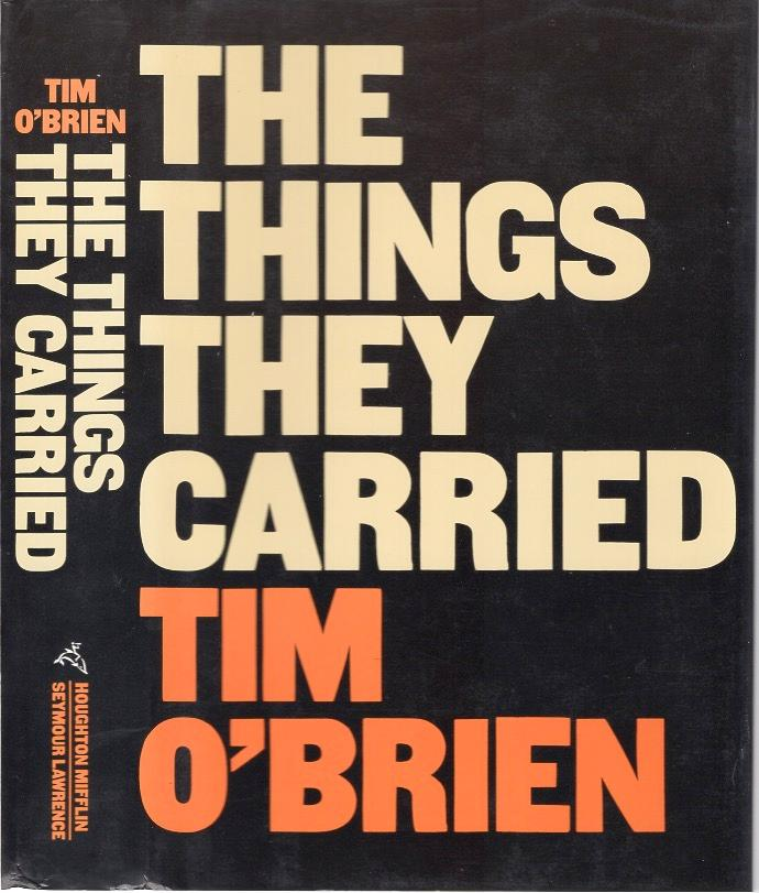 """thing they carried Reading questions for the things they carried chapter 1: """"the things they carried"""" 1 in the list of all the things the soldiers carried, what item was most surprising."""