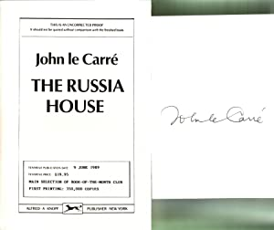 THE RUSSIA HOUSE. [SIGNED]