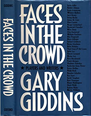 FACES IN THE CROWD.: GIDDINS, Gary.
