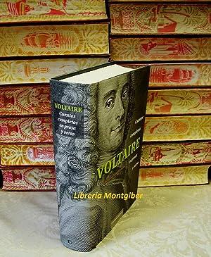 Cuentos Completos. en prosa y verso: Voltaire