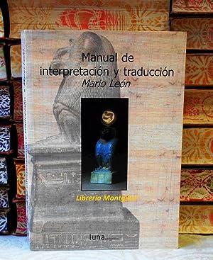 Manual de interpretación y traducción: León, Mario
