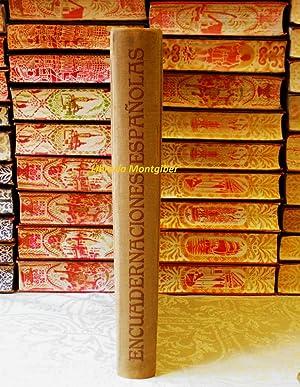 EXPOSICION DE ENCUADERNACIONES ESPAÑOLAS . Siglos XII: Hueso Rolland, Francisco