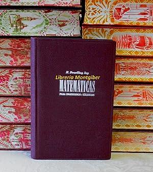 TRATADO DE MATEMATICAS PARA INGENIEROS Y TECNICOS .: Doerfling, R. (ingeniero)