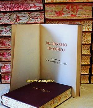 DICCIONARIO FILOSOFICO: Rosental, M.M. / Iudin, P.F.