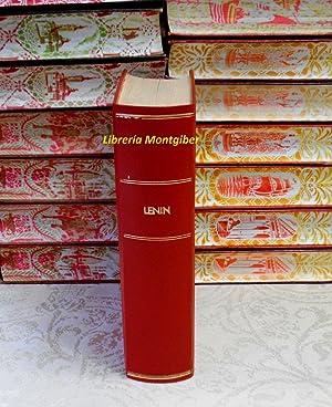 OBRAS ESCOGIDAS . En dos tomos (2 tomos en 1 Vol): Lenin