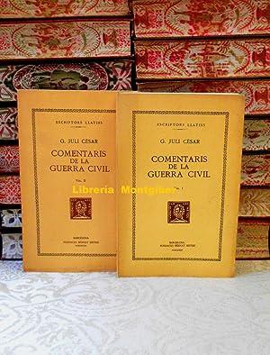 COMENTARIS DE LA GUERRA CIVIL . 2: Cesar, G. Juli
