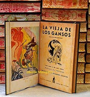 CUENTOS : La vieja de los gansos ( Hermanos Grimm ) / Aladino o la lámpara maravillosa ...