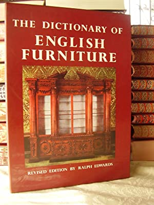 THE DICTIONATY OF ENGLISH FURNITURE ( 3: RALPH EDWARDS