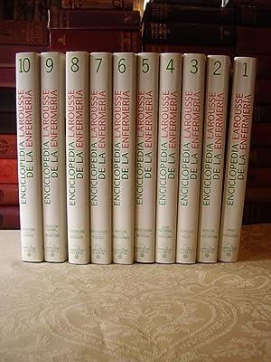 ENCICLOPEDIA LAROUSSE DE LA ENFERMERIA ( 10 Vols. )
