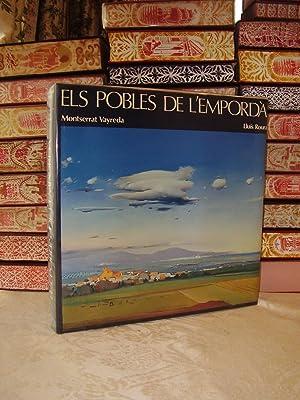 Els pobles de l'Empordà .: ROURA, Lluís ( pintures ) . VAYREDA, Montserrat ( poemes ) .