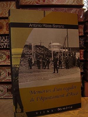 Memòries d'un regidor de l'Ajuntament d'Ascó: Ribes Serrano, Antonio