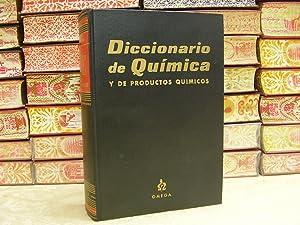 DICCIONARIO DE QUIMICA Y DE PRODUCTOS QUIMICOS . Español-Inglés e Inglés- Espa...