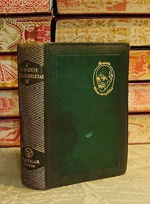 OBRAS COMPLETAS Vol IV . ( El: Benavente , Jacinto