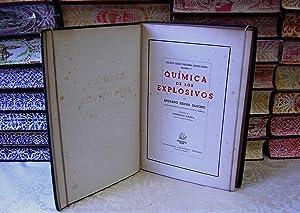 QUIMICA DE LOS EXPLOSIVOS .: Ezama Sancho, Eduardo