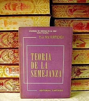 TEORIA DE LA SEMEJANZA: Kirpichev, M.V.