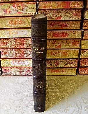 OEUVRES COMPLÈTES . Première Série contenant : Cooper, Fenimore