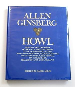 Howl; Original Draft Facsimile, Transcript & Various: Ginsberg, Allen (Edited