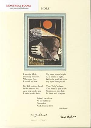 Mole (Broadside Print) -- from The Cat and the Cuckoo