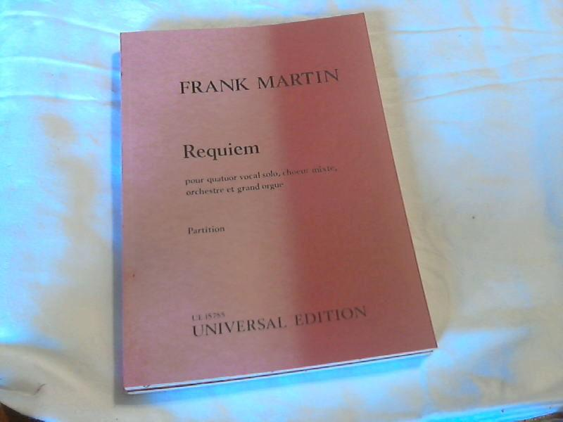 requiem frank martin chant et piano