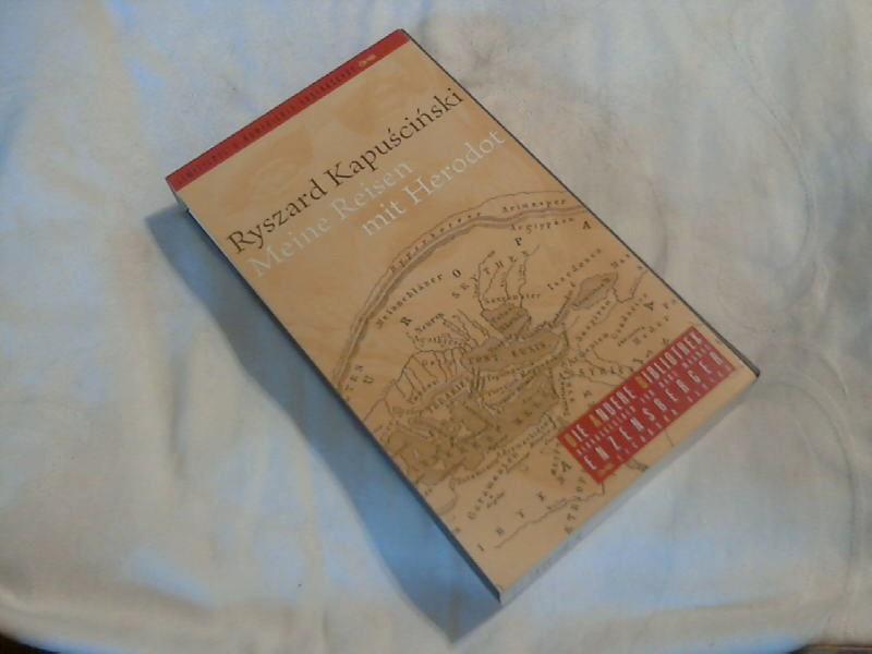 Meine Reisen mit Herodot. Aus dem Poln.: Kapuscinski, Ryszard: