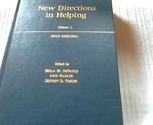 New Directions in Helping Volume 2 Help: DePaulo, Bella M.,
