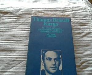 Kargo: Brasch, Thomas: