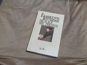 Die Klage des Friedens. Erasmus von Rotterdam.: Erasmus, Desiderius und