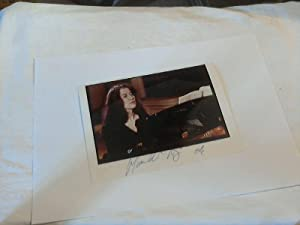 Martha Argerich - signiertes Orig. Photo